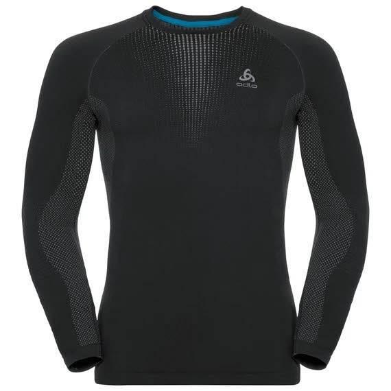 Odlo Performance Warm Funktionsunterwäsche Langarm Shirt Herren black NEU - Bild 1