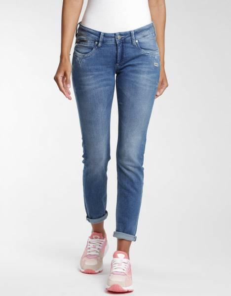 GANG Nikita Skinny Fit Jeans Damen Jeanshose modisch Freizeit blau NEU - Bild 1