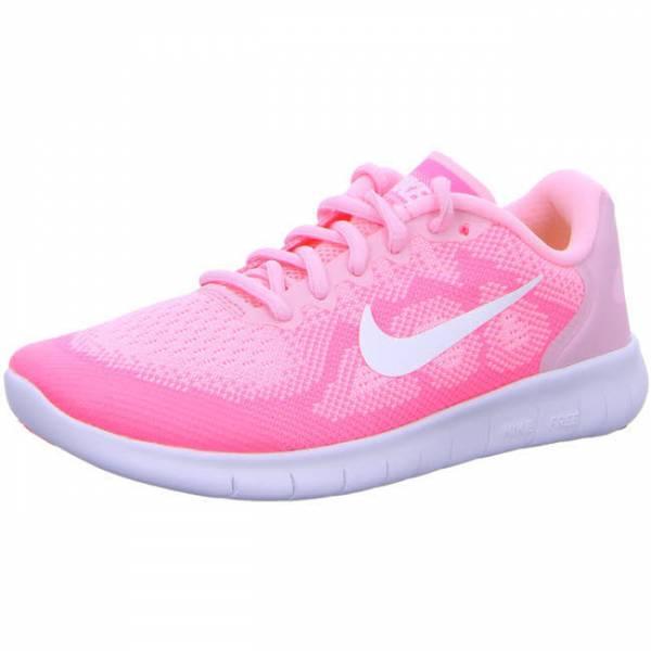 NIKE Free RN Mädchen Sneaker Turnschuhe Running Halle Outdoor Freizeit pink NEU - Bild 1