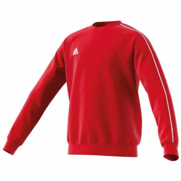 adidas JU Core18 SW TOP Y Jungen Sweatshirt Trainings Pullover rot NEU
