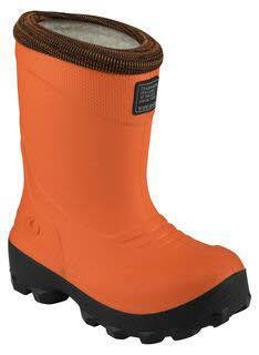 Viking FROST FIGHTER Orange Kinder Winterstiefel Gummistiefel Thermo Wolle NEU