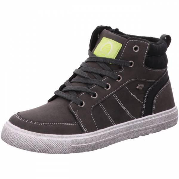 Indigo Sneaker High Jungen Winterschuhe Wintersneaker modisch schwarz NEU