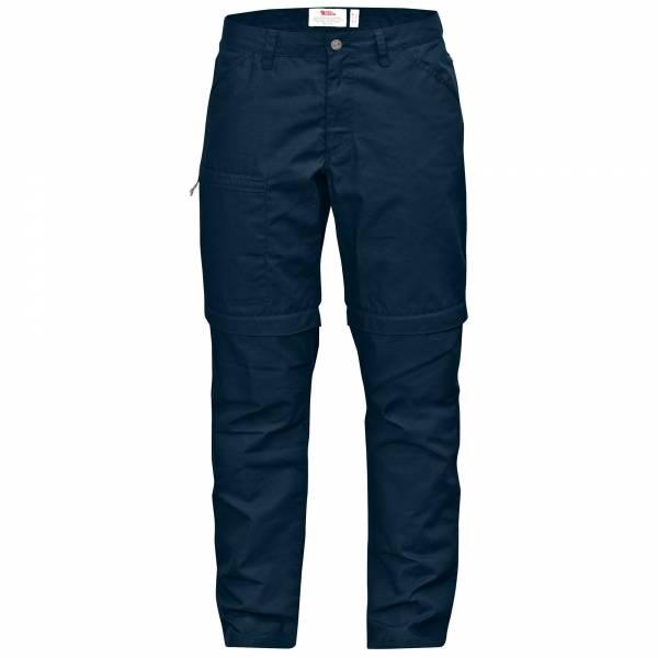 Fjällräven High Coast Zip-Off Trousers W Damen Trekkingshirt Outdoor navy NEU