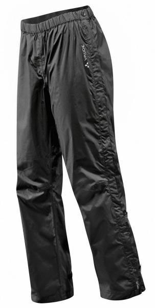 Vaude Men´s Fluid Full-zip Pants II S/S Herren Multifunktionshose black NEU