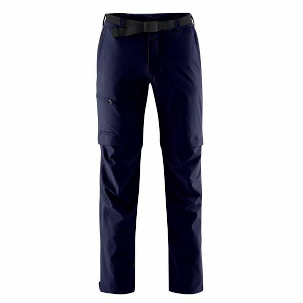 Maier Sports Tajo Zip Off Trekkinghose Outdoor Freizeit blau NEU