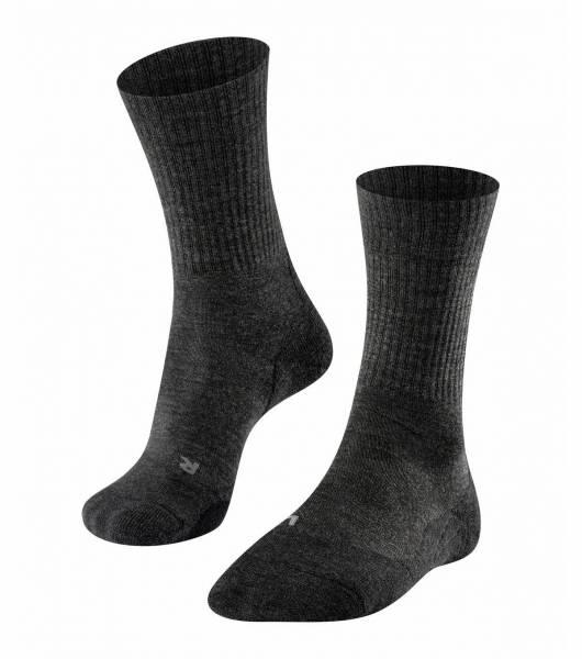 Falke TK2 Wool Herren Trekking Socken Sportsocken Wandersocken Freizeit grau NEU - Bild 1