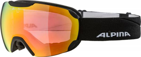 Alpina Pheos QVM sph. Unisex Skibrille Wintersportbrille Sonnenbrille black NEU - Bild 1