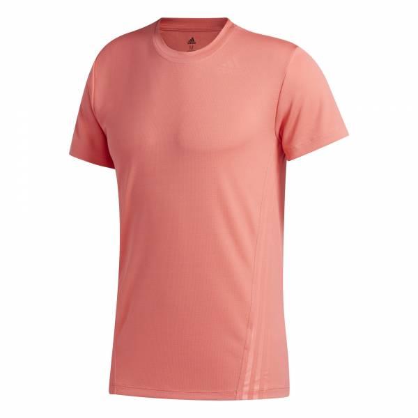adidas Aeroready 3 Streifen T-Shirt Herren Funktion Fitness Outdoor orange NEU - Bild 1