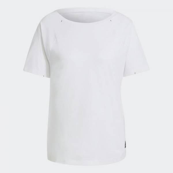 adidas Sportswear Primeblue T-Shirt Sport Fitness Training Damen weiß NEU - Bild 1