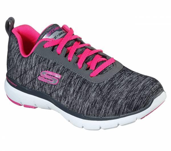 Skechers Flex Appel 3.0 Insiders Damen Training Freizeit Sneaker schwarz NEU - Bild 1