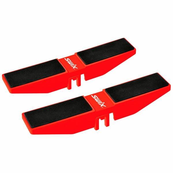 Swix Universal Adapter Einspannvorrichtung Ski Alpin Snowboard Langlauf rot NEU