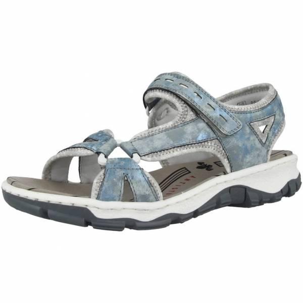 Rieker Sandalette Damen Sandale sportiv modisch Sommerschuhe blau NEU - Bild 1