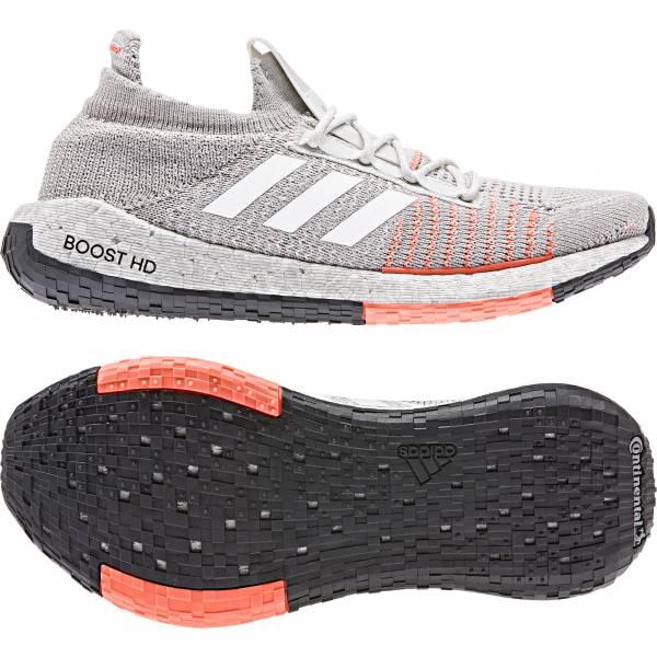 adidas PulseBOOST HD w Damen Running Schuh Laufschuhe Turnschuhe hellgrau NEU - Bild 1