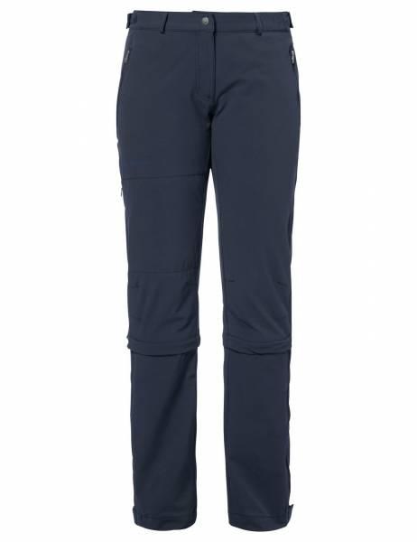 VAUDE Farley Stretch Capri T-Zip II Damen Trekkinghose Outdoor schwarz NEU - Bild 1