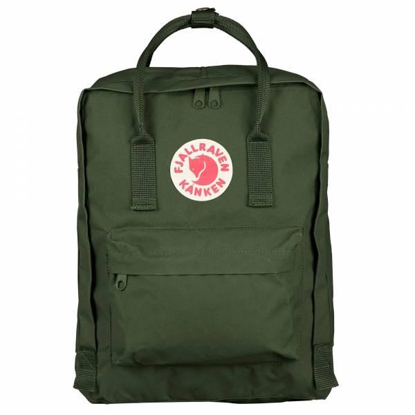 Fjällräven Kånken Rucksäcke Freizeit Schule Forest Green Backpacks NEU