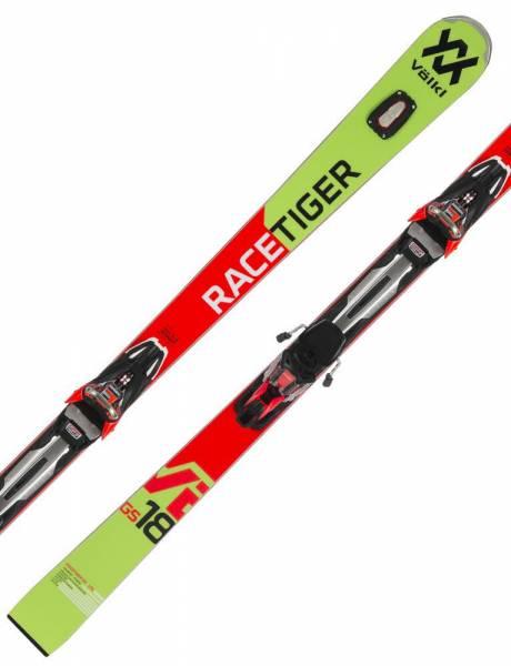 Völkl Racetiger GS 18/19 Performance Riesenlslalom Race Carver Alpin Skiset NEU