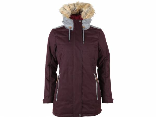 High Colorado Hochfirst L Damen Wintermantel Freizeitjacke Jacket plum NEU
