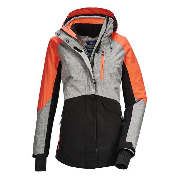Killtec Savognin Damen Funktionsjacke Skijacke Wintersport Jacke graumelange NEU - Bild 1
