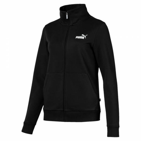 PUMA Ess Track Jacket FL Damen Sportjacke Fitness Gymnastik Freizeit schwarz NEU - Bild 1