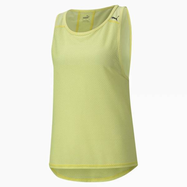 Puma Mesh Trainings Tank-Top Sport Fitness Training Damen grün NEU - Bild 1