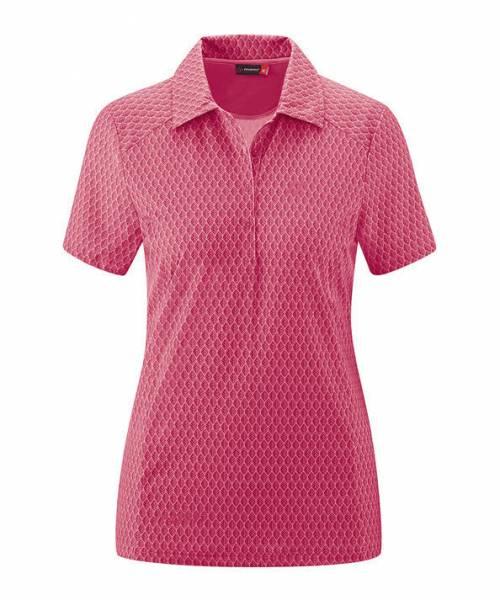 Maier Sports Pandy Poloshirt Outdoor Wandern sportlich Damen pink NEU