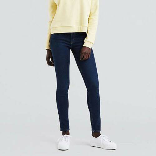 Levi´s 710 Innovation Super Skinny Jeans Damen Röhrenjeans dunkelblau NEU