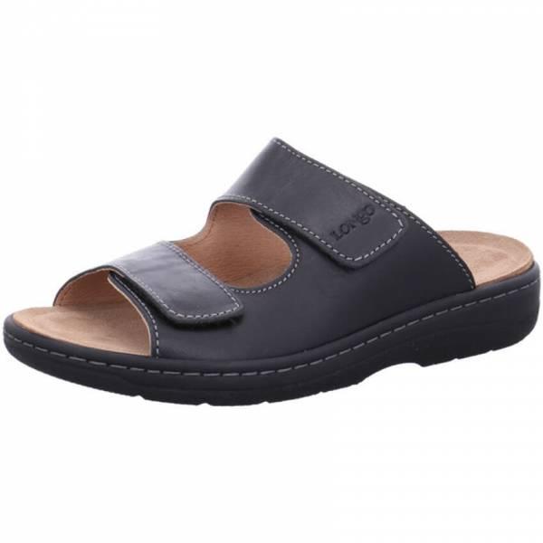 Longo Sandale Herren Pantoletten Sandalette Sommerschuhe Freizeit schwarz NEU - Bild 1