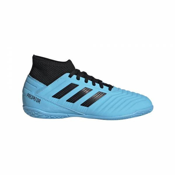 adidas Predator 19.3 IN J Kinder Fußballschuhe Hallenschuhe Soccer blau NEU - Bild 1