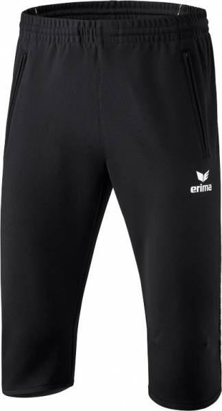 Erima 3/4 Trainingshose Herren Sporthose Polyester schwarz NEU - Bild 1