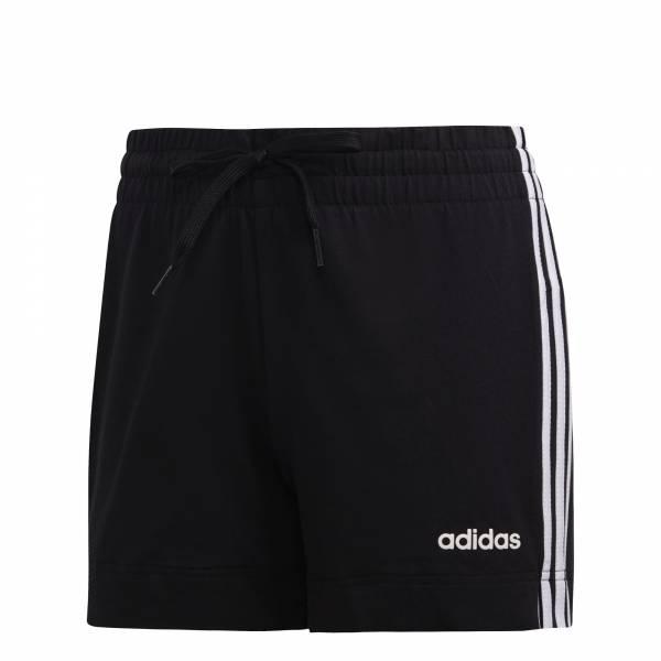 adidas Essentials 3-Streifen Shorts Sport Freizeit Fitness Damen schwarz NEU - Bild 1