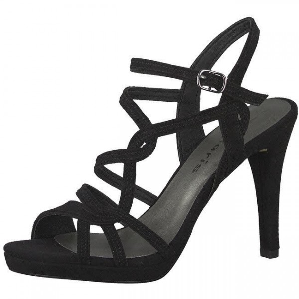 Tamaris High Heel Sandalette Damen Sandale elegant hoher Absatz NEU