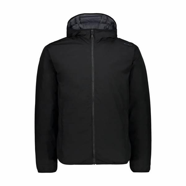 CMP Herren Jacket Fix Hood Freizeitjacke Winterjacke modisch nero NEU