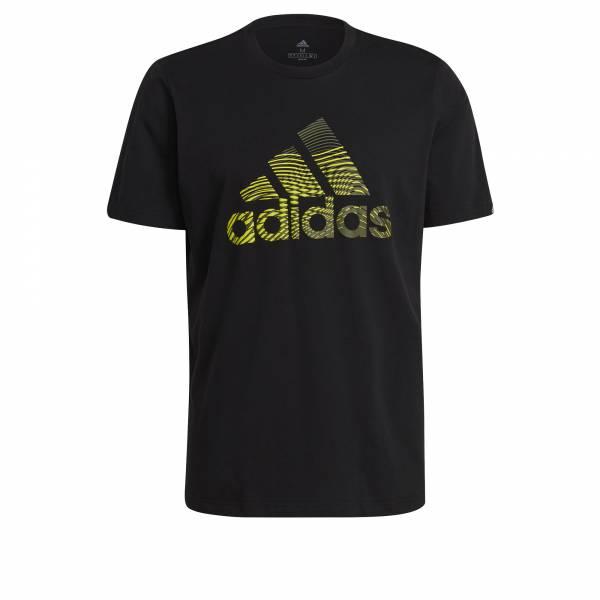 Adidas Extrusion Motion T-Shirt sportlich Training Outdoor Herren schwarz NEU - Bild 1