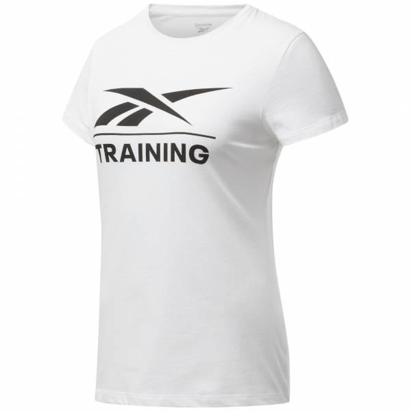 Reebok Specialized Training T-Shirt Sport Fitness Training Damen weiß NEU - Bild 1