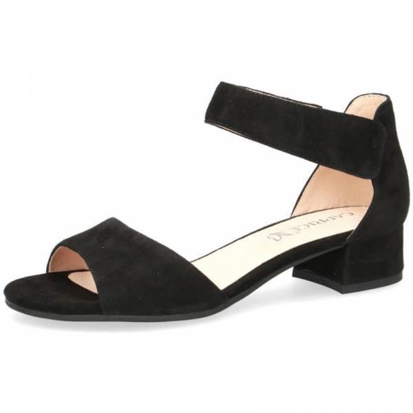 Caprice Sandale Damen Sandalette Pantolette Sommerschuhe modisch schwarz NEU