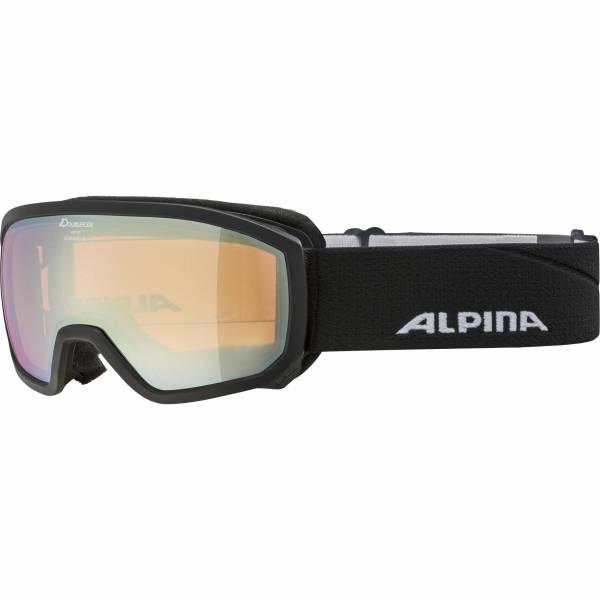 Alpina Scarabeo Kinder Skibrille Snowboardbrille Wintersport schwarz NEU - Bild 1
