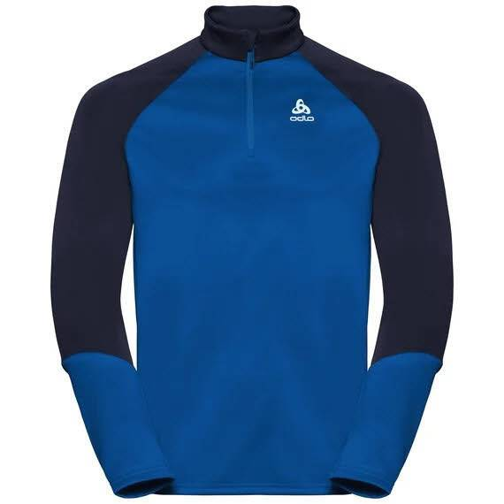 Odlo Planches Midlayer ½  Zip Herren Longsleeve Wintersport energy blue NEU - Bild 1