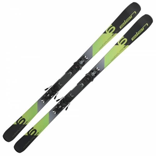 Elan Explore 6 grün Allmountain OnPiste Alpin Skiset Carving 19/20 NEU