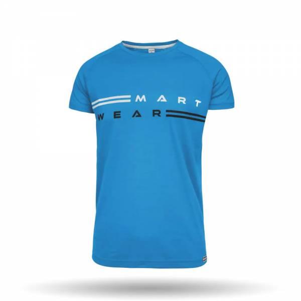 MARTINI Why Not Shirt Herren Funktionsshirt Outdoor Freizeit blau NEU