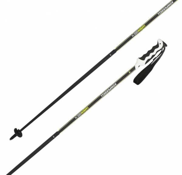 Komperdell Carbonized 16 Black/Yellow 18/19 Unisex Skistöcke Alpine Ski Poles NEU - Bild 1