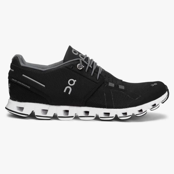 ON Cloud Damen Freizeitschuh Sportschuh Sneaker black/white NEU - Bild 1