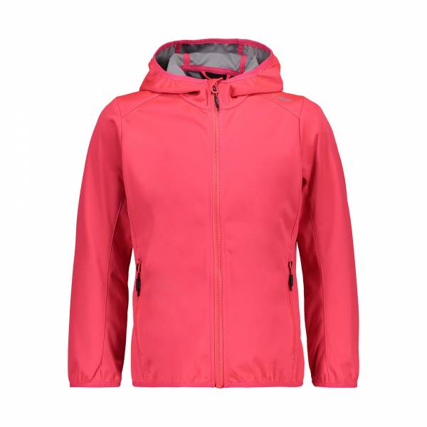 CMP Jacket Fix Hood Mädchen Softshelljacke Outdoor pink NEU