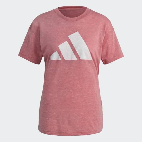 adidas Sportswear Winners T-Shirt 2.0 Sport Freizeit Fitness Damen rosa NEU - Bild 1