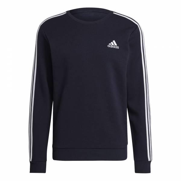 Adidas Essentials Sweatshirt Pullover sportlich Outdoor Herren schwarz NEU - Bild 1
