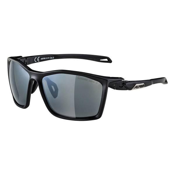 Alpina TWIST FIVE CM+ Unisex Ski-Sonnenbrille Sportbrille Lifestyle schwarz NEU