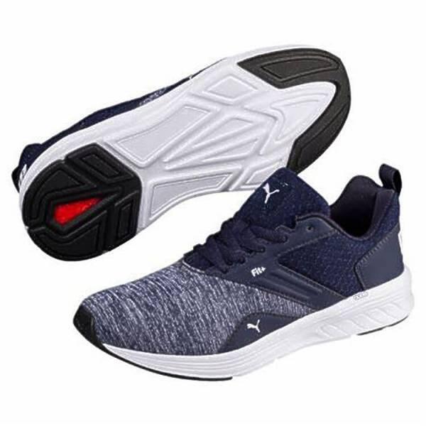 Puma NRGY Comet Jungen Sportschuh Sneaker Freizeit Outdoor blau NEU