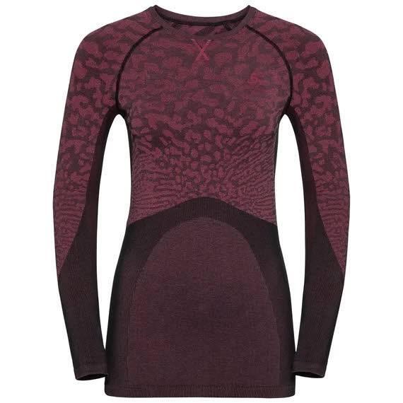 Odlo Blackcomb Funktionsunterwäsche Langarm Shirt Damen Outdoor schwarz NEU - Bild 1