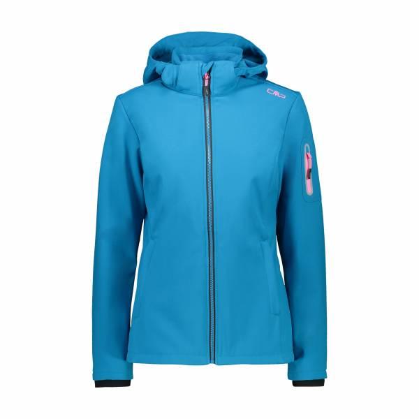 CMP DA Woman Jacket ZIP HOOD Damen Jacke Softshell blau NEU - Bild 1