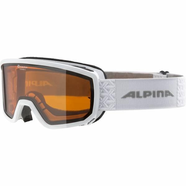 Alpina Scarabeo S DH Damen Skibrille Wintersportbrille Sonnenbrille white NEU - Bild 1