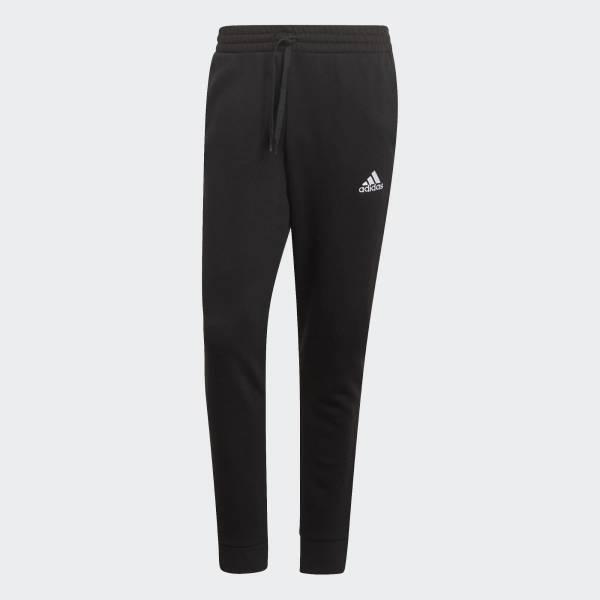 adidas Essentials Fleece Tapered Cuff Jogginghose Freizeit Herren schwarz NEU - Bild 1